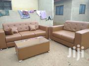 Stylish Leather Sofa | Furniture for sale in Greater Accra, Adenta Municipal