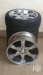 22 Inch Chrome Rims With 3 Free Tyres | Vehicle Parts & Accessories for sale in Greater Accra, Nungua East