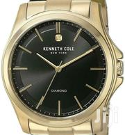 Kenneth Cole Gold Chain Watch Diamond Stone | Jewelry for sale in Greater Accra, Abelemkpe