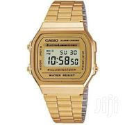 Casio A168wg-9 Unisex Illuminator Chronograph Alarm Watch | Watches for sale in Ashanti, Kumasi Metropolitan