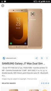 Samsung J7max | Mobile Phones for sale in Greater Accra, Nii Boi Town