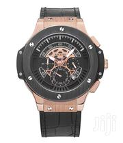 Sports Style Multifunction Leather Strap Megir Watch GOLD   Watches for sale in Greater Accra, Abelemkpe