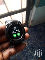 Smart Watch Phone Black V8 | Accessories for Mobile Phones & Tablets for sale in Ashanti, Kumasi Metropolitan