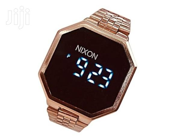 Archive: Nixon Touch Digital Watches - Silver, Gokd, Black, Rose Gold