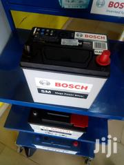 11 Plates Bosch 45ah Battery 12V + Free Delivery | Vehicle Parts & Accessories for sale in Greater Accra, Kwashieman