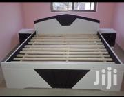 Black and White Bed From KSA Furniture. | Furniture for sale in Greater Accra, Kwashieman