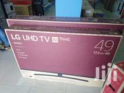 LG 49 Inches Smart 4K Satellite Digital TV | TV & DVD Equipment for sale in Greater Accra, Asylum Down