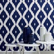 Blue & White Pattern Wallpaper | Home Accessories for sale in Greater Accra, Mataheko