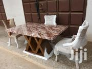 Marble Dining Table Set 6 Chairs | Furniture for sale in Greater Accra, Tema Metropolitan