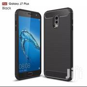For Galaxy J7 Plus Carbon Fiber Case | Accessories for Mobile Phones & Tablets for sale in Greater Accra, Teshie-Nungua Estates
