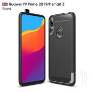 HUAWEI Y9 Prime 2019 Fiber Case [Black] | Accessories for Mobile Phones & Tablets for sale in Greater Accra, Teshie-Nungua Estates