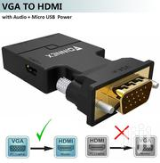VGA to HDMI Adapta With Sound | Computer Accessories  for sale in Greater Accra, Accra Metropolitan