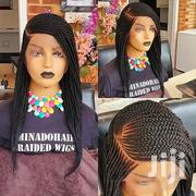 6 6 Mini Frontal Cornrow Braided Wig | Hair Beauty for sale in Greater Accra, Accra Metropolitan