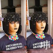 Bob Braided Wig With Bangs | Hair Beauty for sale in Greater Accra, East Legon