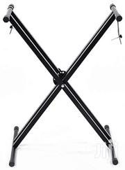 High Quality Adjustable Best Double X Style Electronic Keyboard Stand | Musical Instruments for sale in Ashanti, Kumasi Metropolitan
