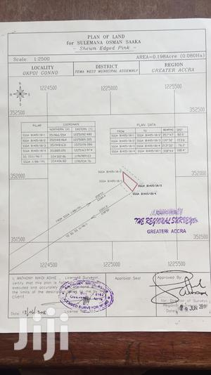 A 0.0198 Acre of Land Walled and Gated Off Spintex Road.