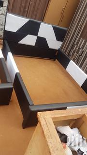 Affordable Bed Frame Black and White at a Cool Price | Furniture for sale in Greater Accra, Okponglo
