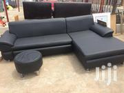 Nice Black Leather Sofa | Furniture for sale in Greater Accra, Dansoman