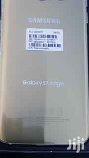 New Samsung Galaxy S7 Edge Gold 64 GB   Mobile Phones for sale in Greater Accra, Teshie new Town