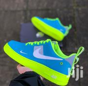 Original Nike Air Force Utility Blue Green | Shoes for sale in Greater Accra, Accra Metropolitan