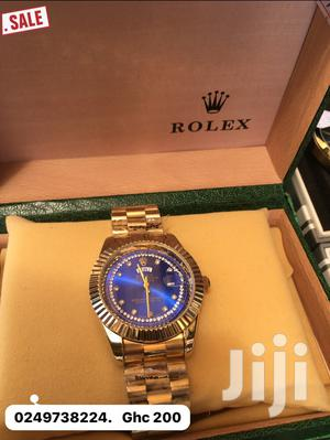 Rolex Oyster Perpetual Gold Watch
