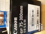 New Canon EF 75-300mm F/4-5.6 III Zoom Lens | Cameras, Video Cameras & Accessories for sale in Greater Accra, Kokomlemle
