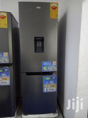 Nasco 400 L Stainless Fridge + Dispenser Bottom Freezer | Kitchen Appliances for sale in Greater Accra, Achimota