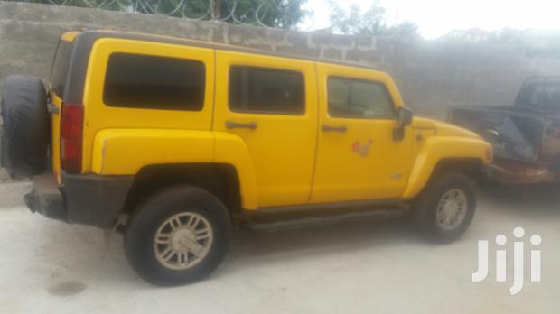 Archive: Hummer H3 2008 SUV Luxury Yellow