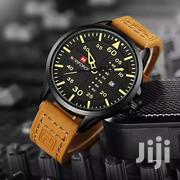 Naviforce Military Men Leather Watch | Watches for sale in Greater Accra, Adenta Municipal