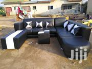 Anoited Leather Sofa | Furniture for sale in Greater Accra, Adenta Municipal