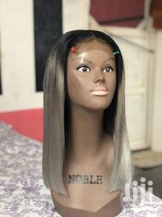 16inches Gray Hair Blunt Cut Bob Wigcap | Hair Beauty for sale in Greater Accra, Dansoman