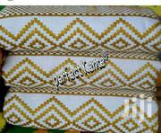 White And Gold Odokwa Kente | Clothing for sale in Greater Accra, Airport Residential Area