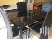 Glass Table Dinning Set. | Kitchen & Dining for sale in Greater Accra, East Legon