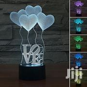 3D Illusion 7 Colors LED Lamp With Remote Control | Home Accessories for sale in Greater Accra, Adenta Municipal