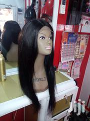 Brazilian Remy Virgin Human Hair Wig Cap With Closure | Hair Beauty for sale in Greater Accra, Kwashieman