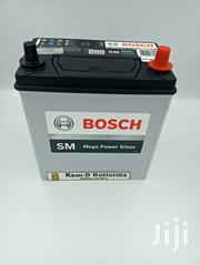 11 Pates Bosch Battery 12v45ah + Free Quick Delivery | Vehicle Parts & Accessories for sale in Greater Accra, Cantonments