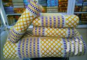 Beautiful White, Royal Blue And Gold Bonwire Kente Cloth | Clothing for sale in Greater Accra, North Ridge