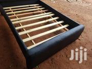 Black Design Bed | Furniture for sale in Greater Accra, Achimota