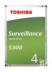"""Toshiba S300 Surveillance 3.5""""- Internal Hard Drive for CCTV – 4TB   Computer Hardware for sale in Greater Accra, Korle Gonno"""