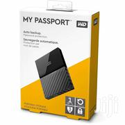 WD WD Passport USB 3.0 Secure Portable Hard Drive 1TB Black | Computer Hardware for sale in Greater Accra, Korle Gonno
