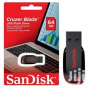 Sandisk Cruzer Blade Pendrive - 64GB Black | Computer Accessories  for sale in Greater Accra, Korle Gonno