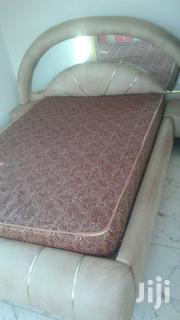 Leather Bed for Sale Double Size.   Furniture for sale in Ashanti, Kumasi Metropolitan