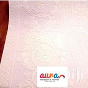 White Embossed Wallpaper | Home Accessories for sale in Greater Accra, Mataheko