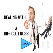 Dealing With A Difficult Boss   Classes & Courses for sale in Greater Accra, Ledzokuku-Krowor