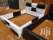 Black and White Bed for Sale | Furniture for sale in Greater Accra, Alajo