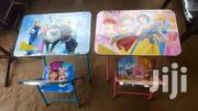 Foldable Kids Study Table And Chair | Children's Furniture for sale in Greater Accra, Kwashieman