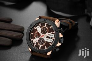 Curren Chronograph Men's Leather Watch