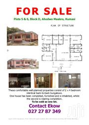 4 Bedroom Bungalow Completed With a Second Uncompleted on 2 Largeplots | Houses & Apartments For Sale for sale in Ashanti, Kumasi Metropolitan