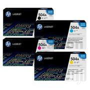 HP Toner 504A B/C/Y/M Original | Computer Accessories  for sale in Greater Accra, Asylum Down