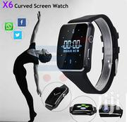 X6 Curved Smart Watch + Wireless Earbuds | Smart Watches & Trackers for sale in Greater Accra, Achimota